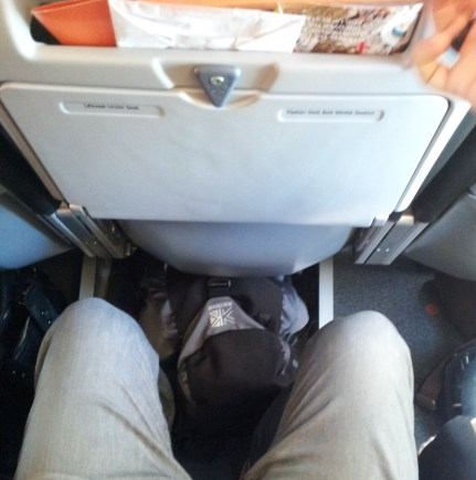Tight but Comfortable Seat