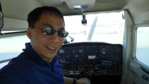 tripchi fan Brian - amateur pilot