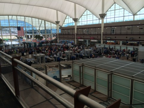 Denver Airport Layout