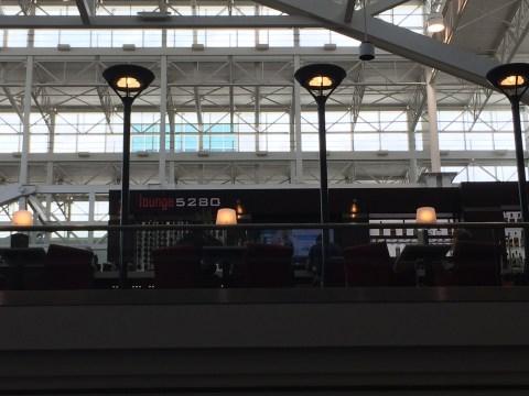 Lounge 5280 at Denver Airport