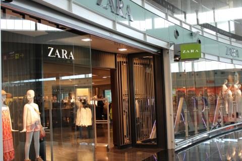 Zara at Barcelona Airport
