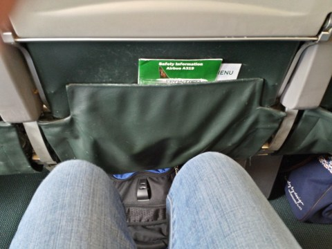Frontier 405 Knee Space