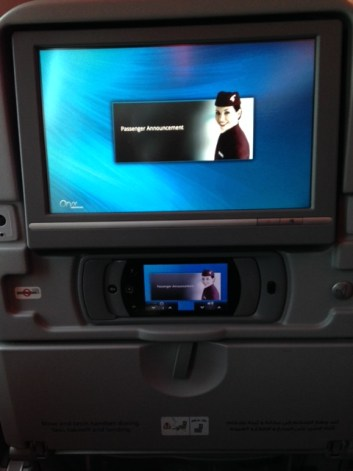 Oryx On-Board Entertainment System