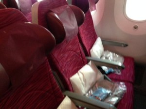 Qatar 1366 Economy Seats