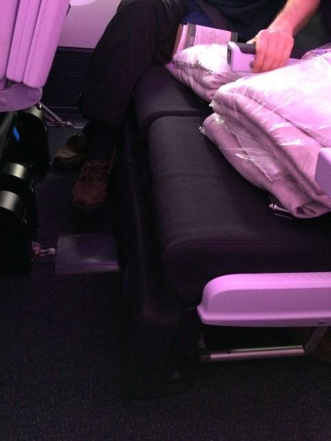 SkyCouch - Air New Zealand Flight NZ2