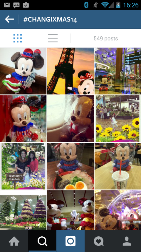 Changi Airport Holiday Instagram Feed