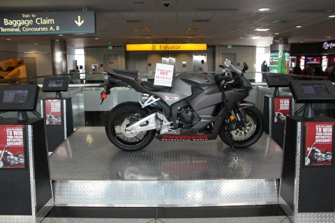 Win a Motorcycle at Denver Airport
