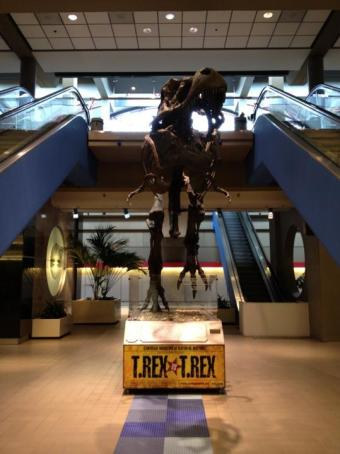 PIT Airport T. Rex