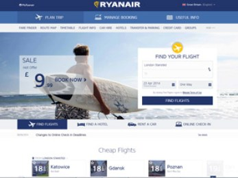 ryanair screen scrape
