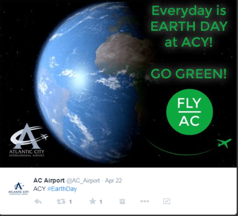 ACY Airport Earth Day
