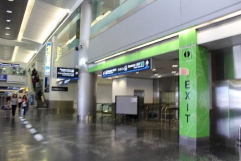 MIA Airport Security Exit