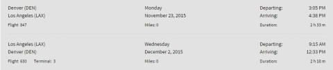 Spirit Flight to LAX for Thanksgiving Travel - UNDER $100