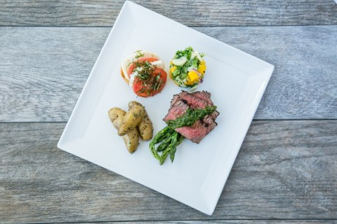 Flat Iron Steak - HMSHost offers May is Airport Restaurant Month again