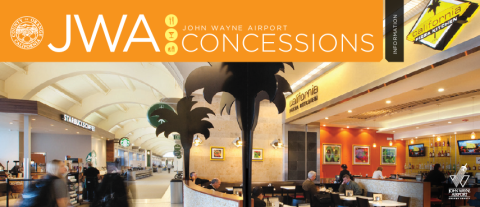 JWA Concessions at John Wayne Airport