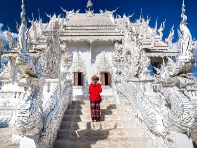 Wat Rong Khun White Temple Thailand