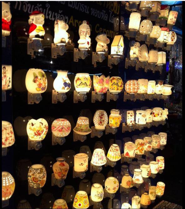 Souvenir Lampu Thailand