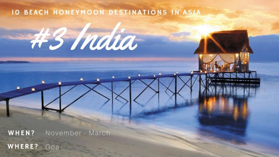 Want to see amazing beaches? Head to Goa for incredible sights during your stay.