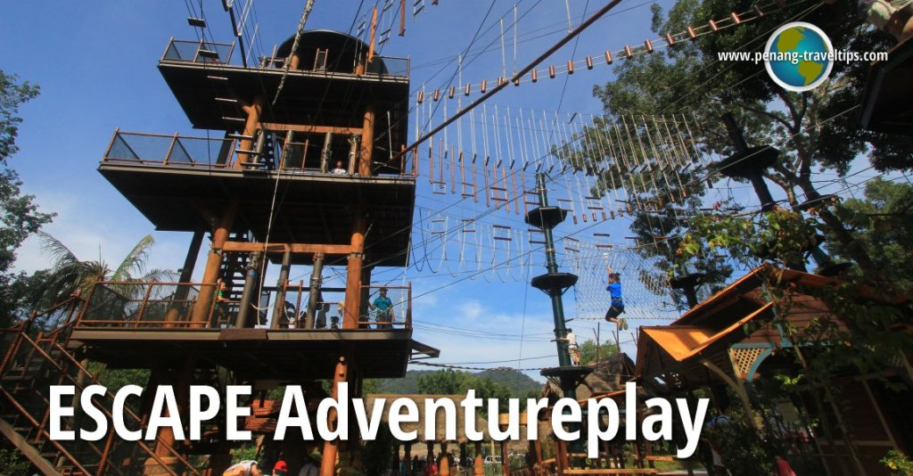 Where to go in Malaysia? Visit Escape theme park Penang that has a beautiful nature concept