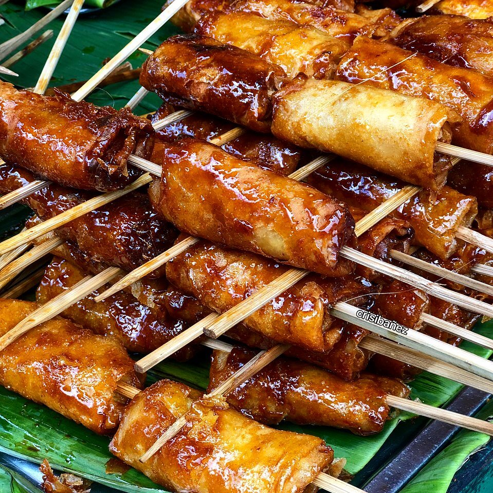 Turon is made out of jackfruit.