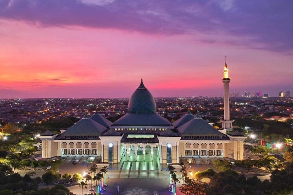 Al-Akbar Mosque also known as Great Mosque of Surabaya, is a national mosque located in Surabaya, East Java.