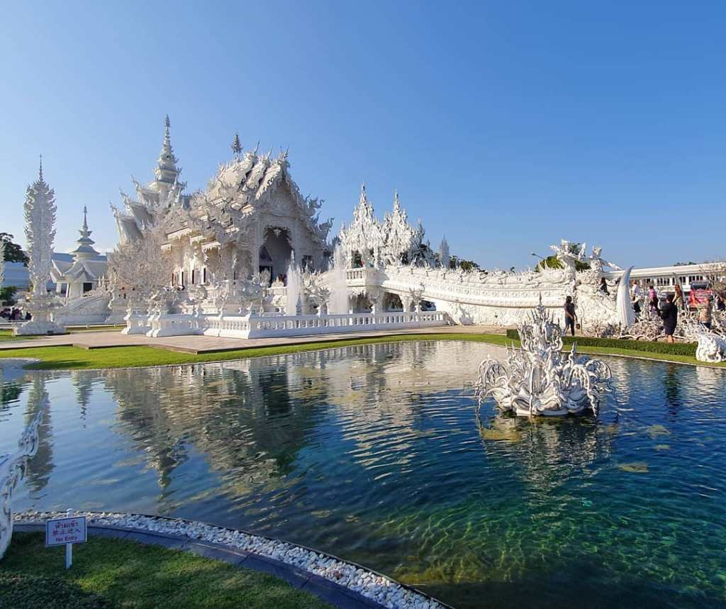 Pure White Temple, Chiang Rai