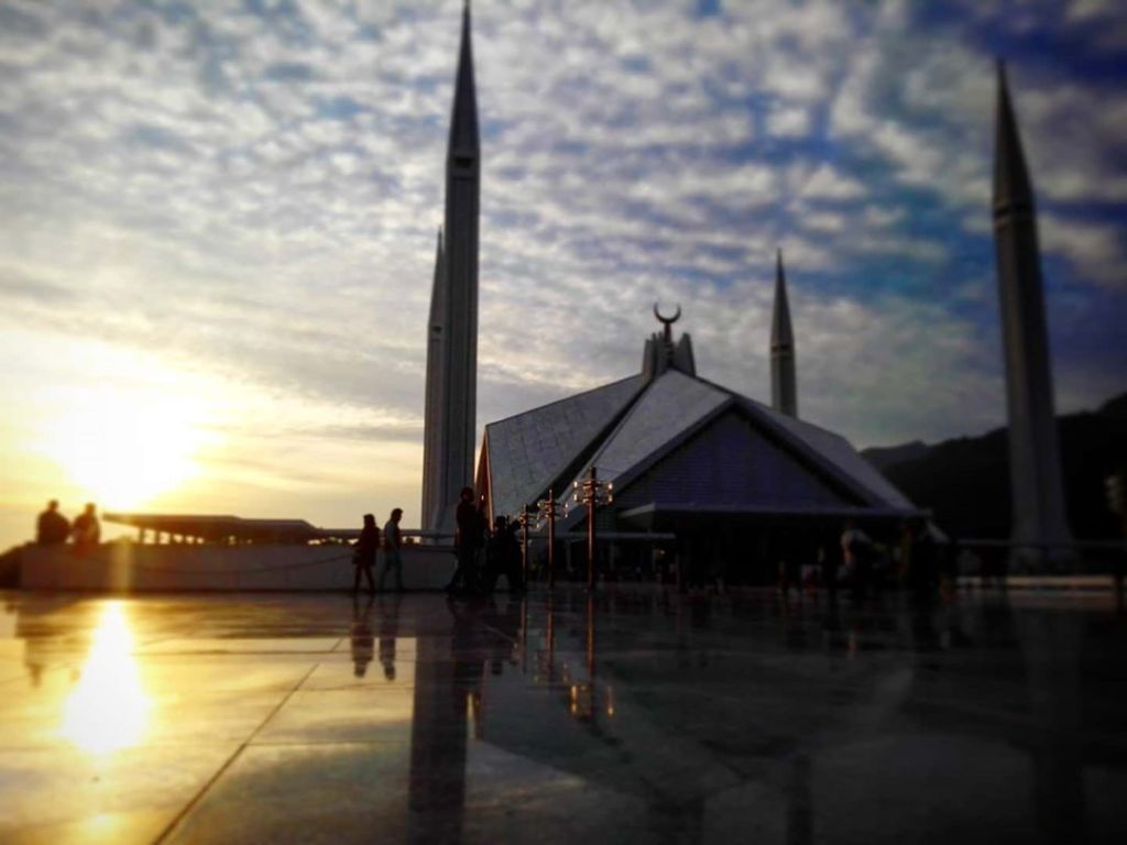 The Faisal Mosque is a mosque in Islamabad, Pakistan