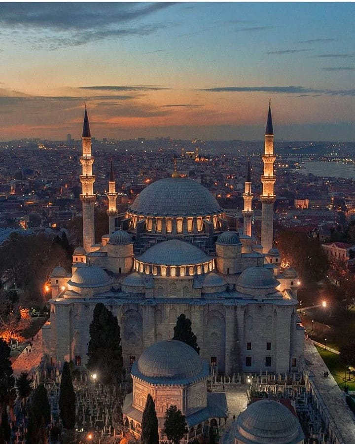The Suleymaniye Mosque is one of Istanbul's largest mosques and considered to be its most important one.