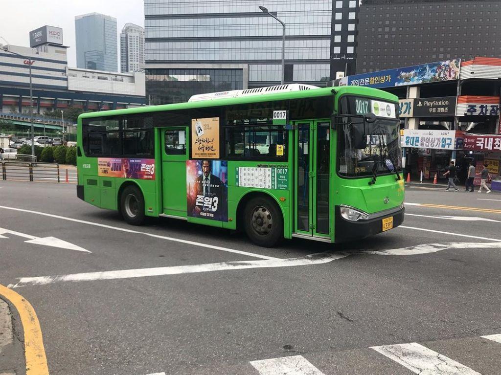 Perkhidmatan Public Transport di Seoul Korea Termasuk Bas