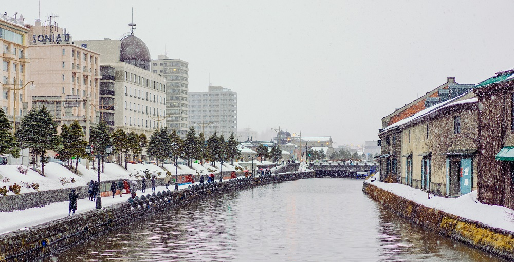 Otaru is easily popular among the local tourist as well.