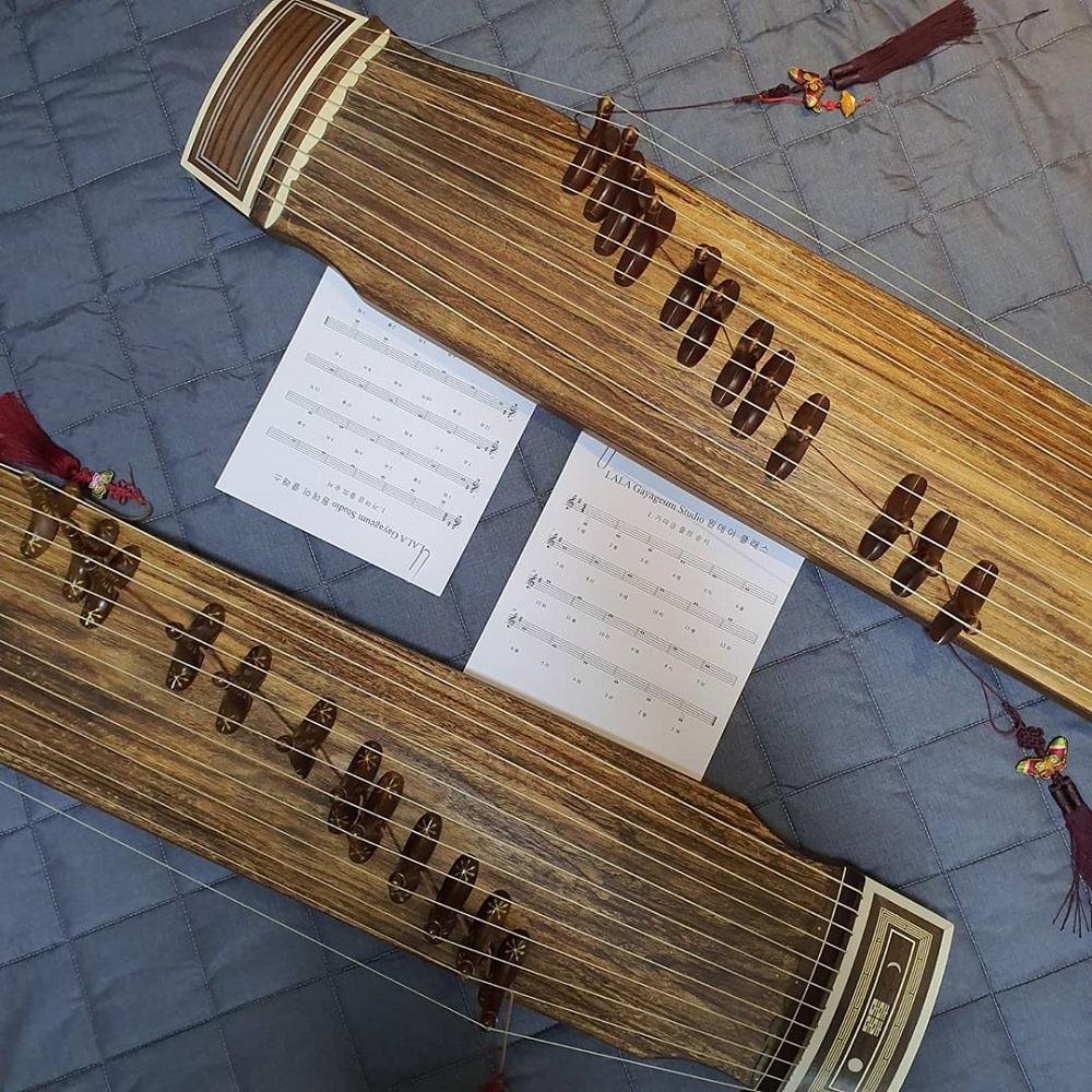 Korea's traditional musical instrument gayageum