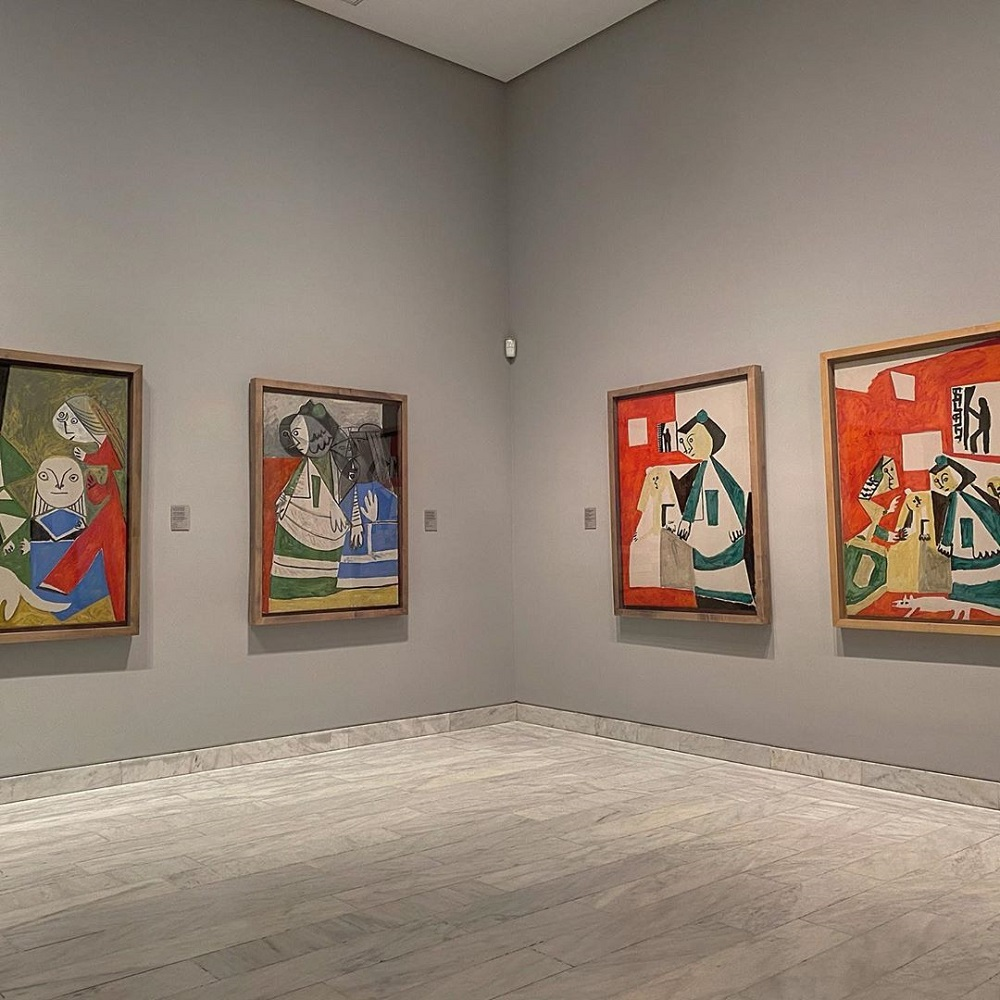 Study Picasso's Early Works in Madrid