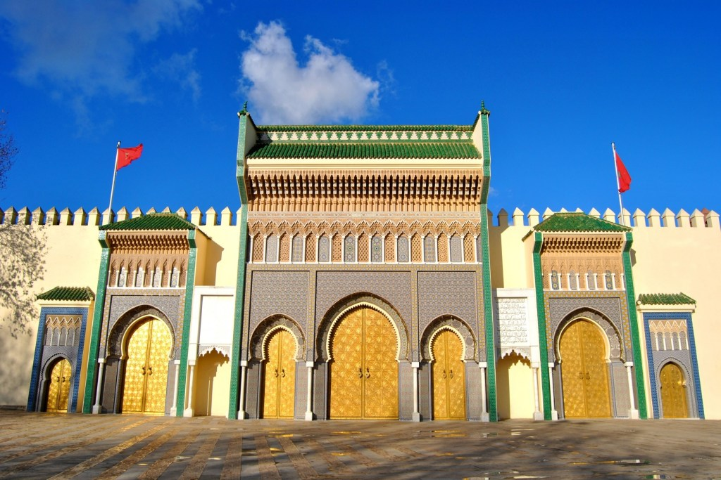 Dar El Makhzen is one of Morocco tourist spots and the famous Moroccan architecture examples that you must visit.
