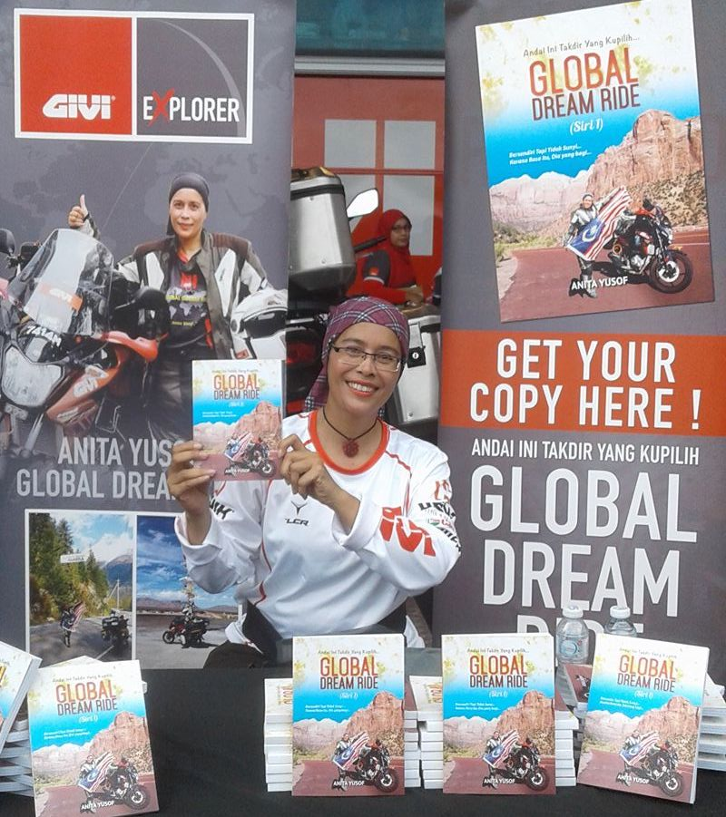 "Anita Yusof book ""Global Dream Ride"""