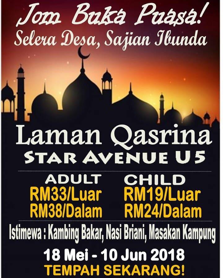 Bufet Ramadan @ Laman Qasrina