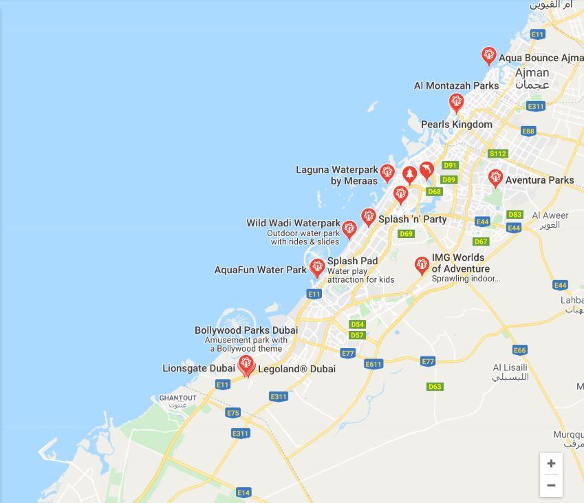 Taman Tema Yang Ada Di Dubai