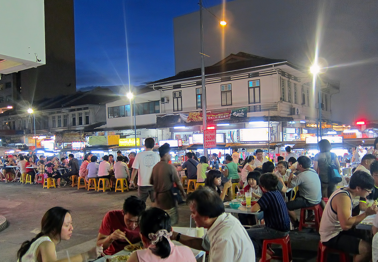 Penang Travel Guide - Places to Eat