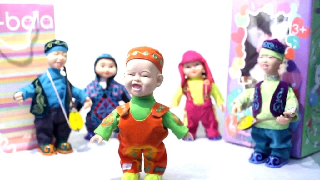 Bal-Bala toys, depicting characters of Kazakh folklore