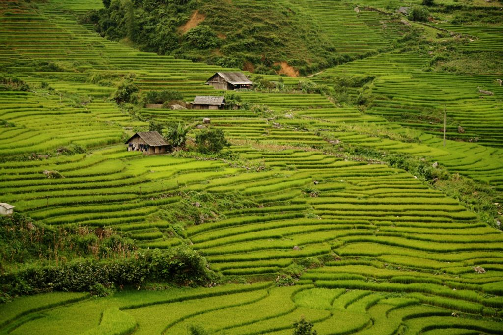 The village of Sa Pa promises a breathtaking view with a great hike