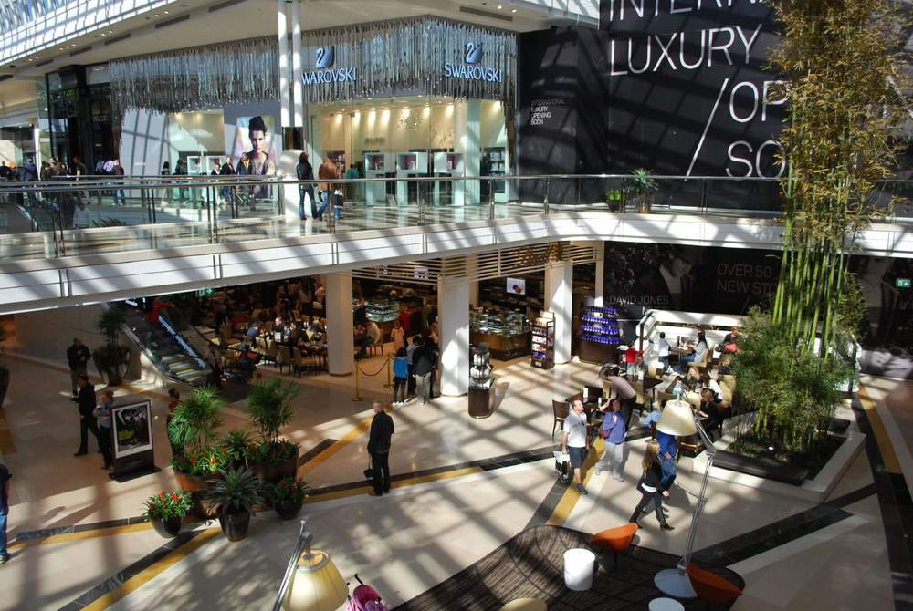 You can find well known brands at Chadstone Shopping Centre