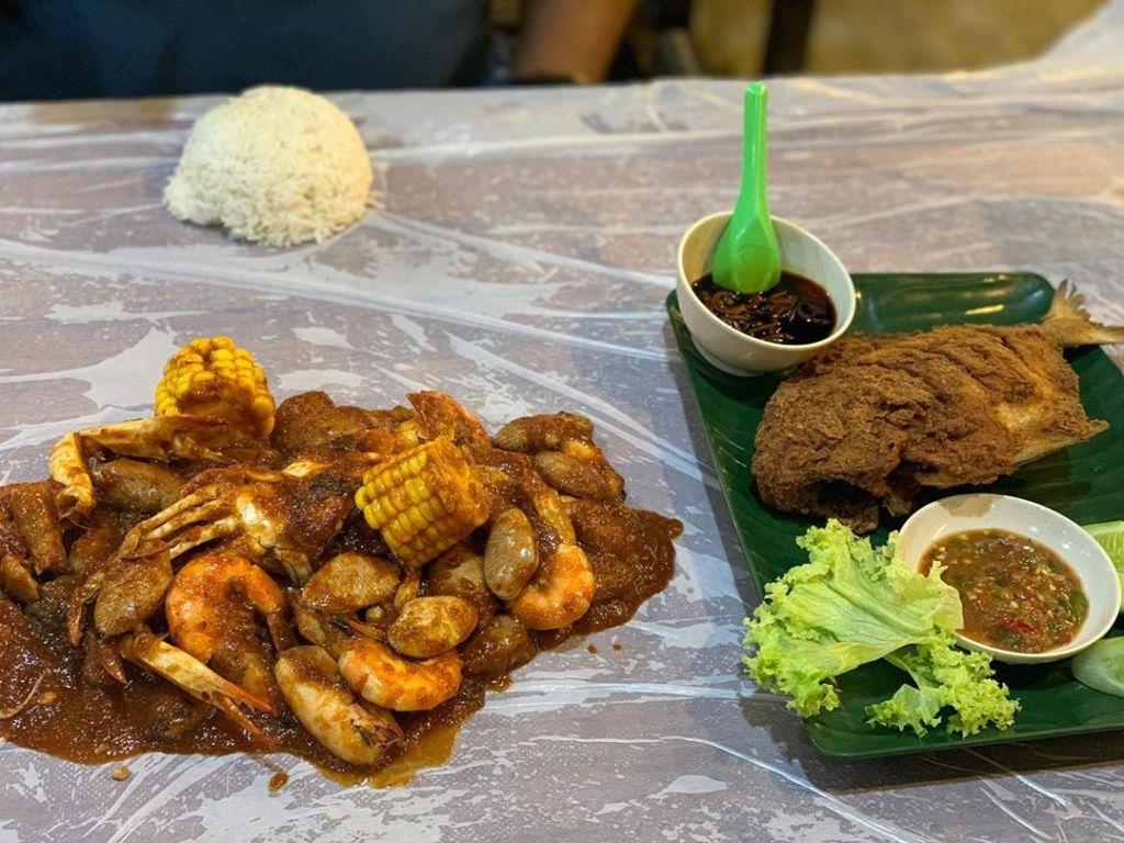 Restoran Ikan Bakar Top Alor Setar sememangnya terkenal di Kedah