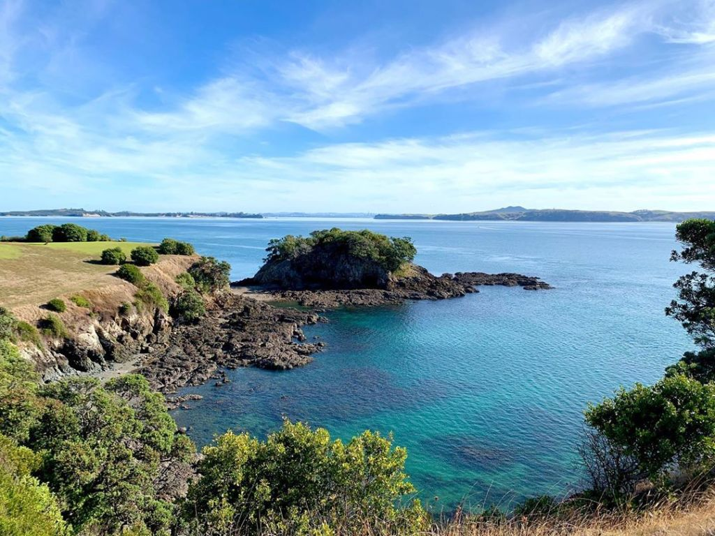 Waiheki Island is the most populated and second largest in the Hauraki Gulf of New Zealand