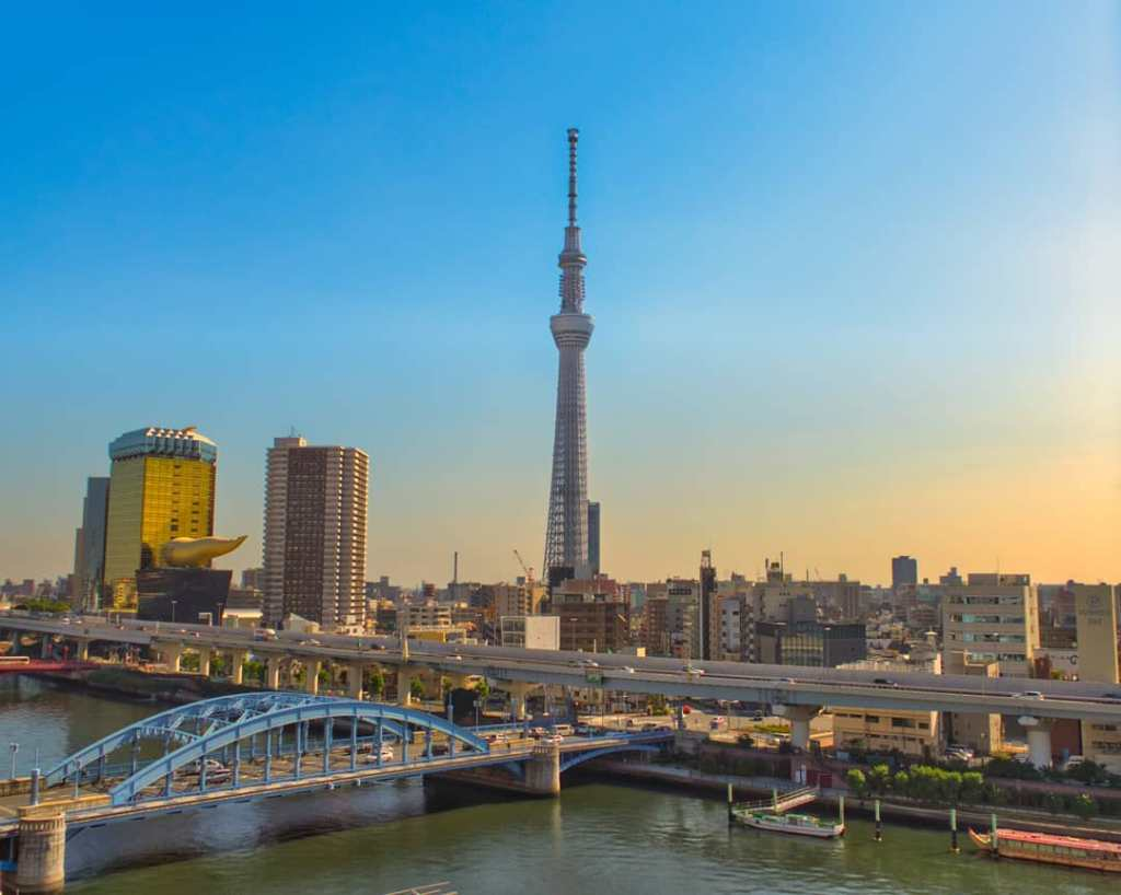 Tokyo Skytree is a broadcasting and observation tower in Sumida.