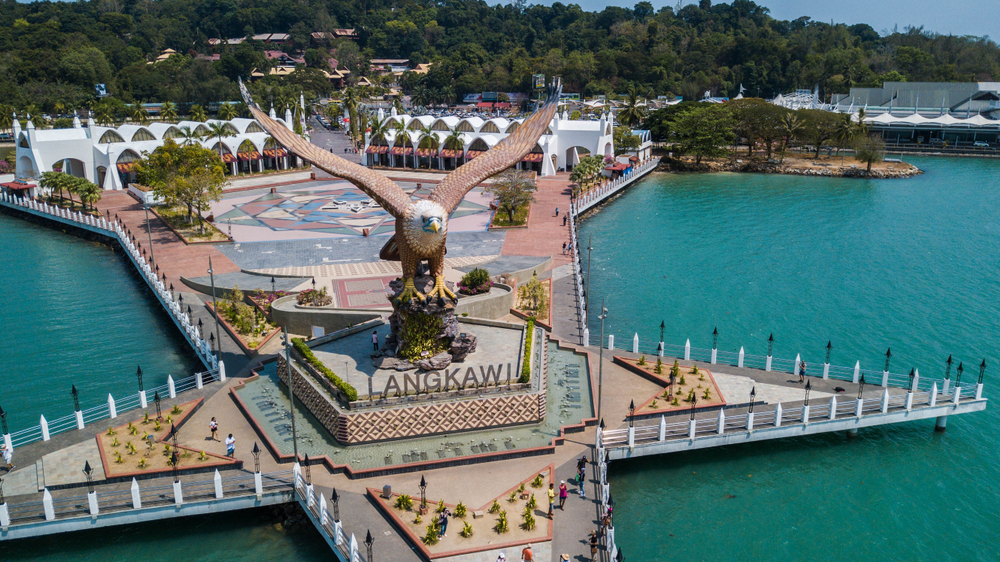 Langkawi island is a popular family retreat destination in Malaysia