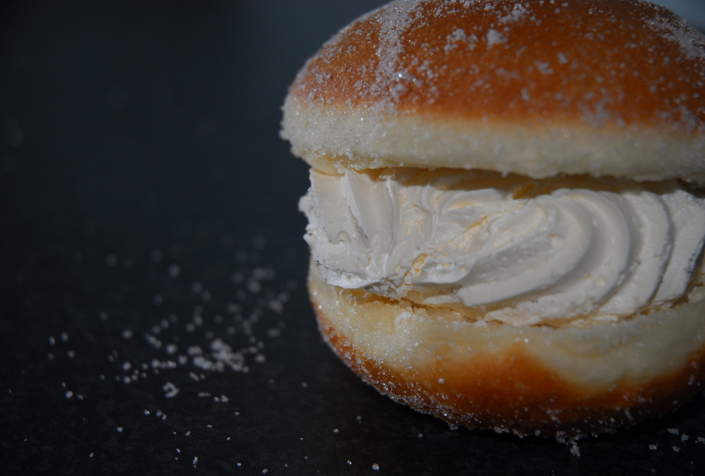 The Kitchener bun is a sweet pastry made and sold in Adelaide and South Australia