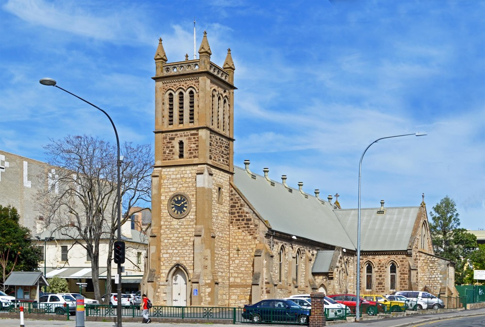 The Holy Trinity Church is the largest Anglican church in South Australia