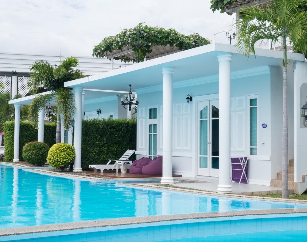 Kolam renang di Sea-Cret Garden Hotel