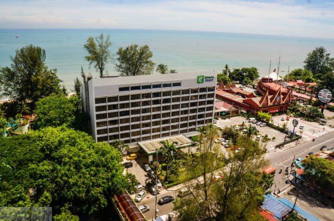 Holiday Inn dari pandangan mata burung