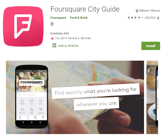 15 Must-Have Malaysia Travel Apps, Foursquare