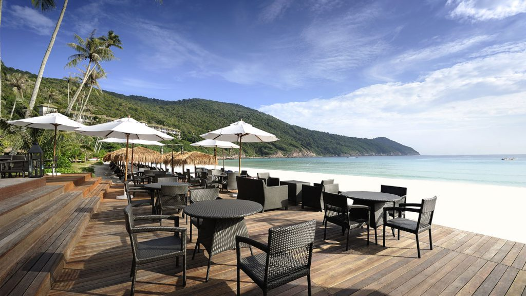 Restoran di The Taaras Beach & Spa Resort