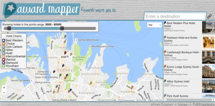 Award Mapper